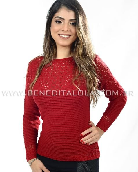 Blusa Tricot Links - SK 553 ✿