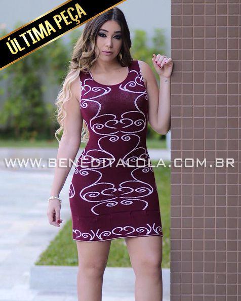 Vestido Tricot (modal) Louisiana Verão 2021 -MDL