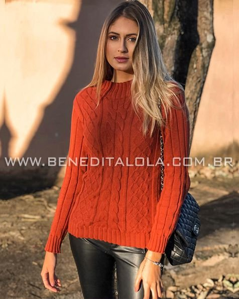 Blusa Tricot Alexandra Inverno 2020- BD