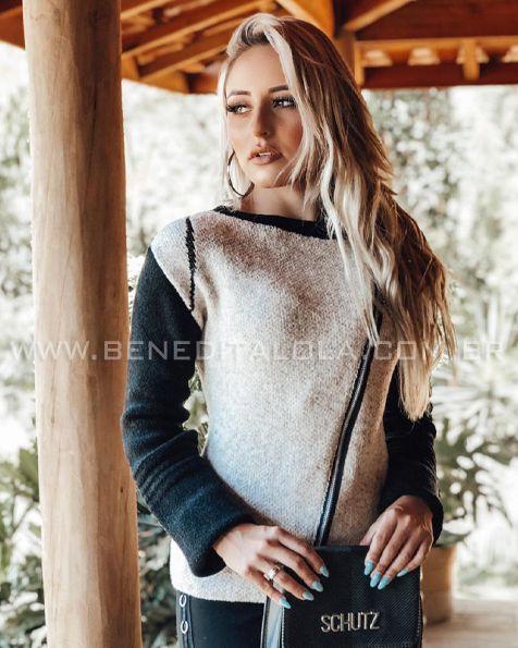 Jaqueta Tricot Bruna Inverno 2020- FM 0097