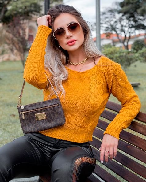 Cropped Tricot Lais Inverno 2020- CO