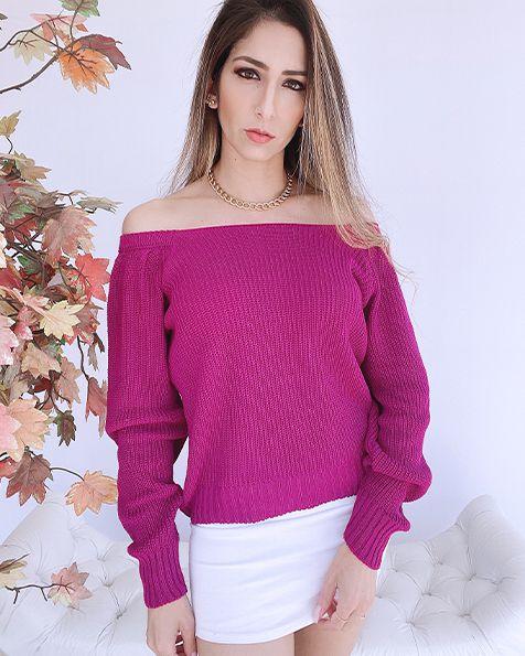 Blusa Tricot Cris - BLC