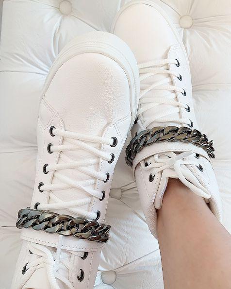 Tênis Sneaker Correntes Verão 2020