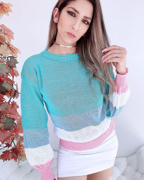 Blusa Tricot Mermaid - BLC