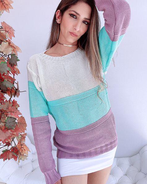 Blusa Tricot Vanilla - BLC