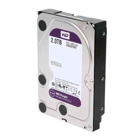 HD Sata Western Digital WD Purple 2TB - WD20PURX