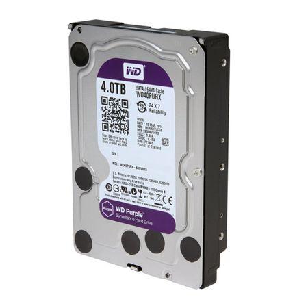 HD Sata Western Digital WD Purple 4TB - WD40PURX