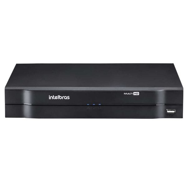 DVR Stand Alone Multi HD Intelbras MHDX-1008 - 8 Canais 1080N HDCVI, HDTVI, AHD, ANALÓGICO + 2 Canais 5Mp IP
