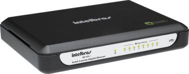 Switch Desktop 08 Portas Ethernet QOS SG800C- Intelbras