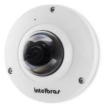 Camera Fisheye IP VIP E6400 4.0MP LENTE 1.18 MM POE - Intelbras