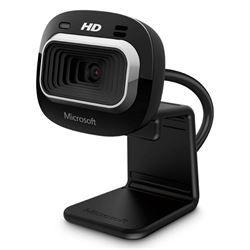 WebCam Microsoft LifeCam HD-3000 USB 720p Preta - T3H-00011