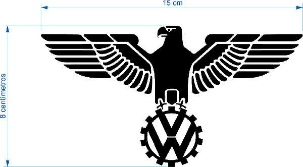 Adesivo Volkswagen Aguia