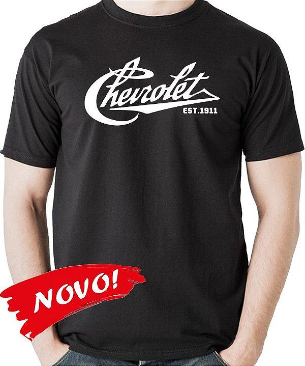 Camiseta Chevrolet Logo 1911 - Clássicos Chevrolet