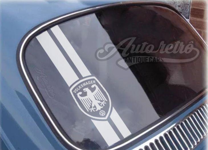 Adesivo Águia Alemã Faixa - Para linha Volkswagen (uso externo)