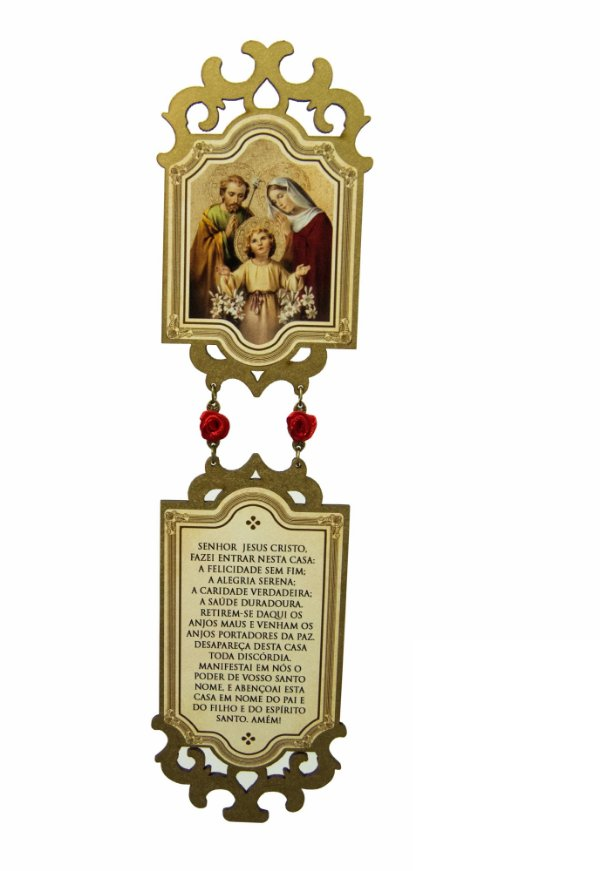 Adorno de Natal - Sagrada Família