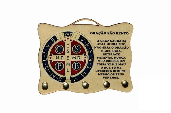 Porta Chaves Medalha São Bento