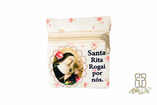 Porta Moedas Santa Rita