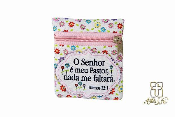 Porta Moedas Salmo 23