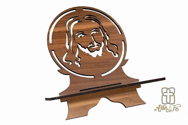 Porta Bíblia Face de Jesus