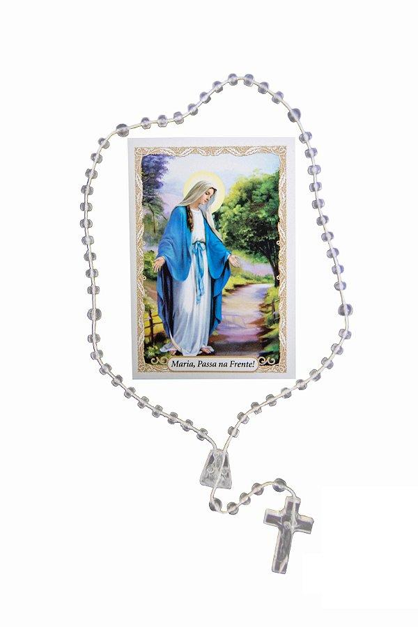 Terço com Oração Maria Passa na Frente