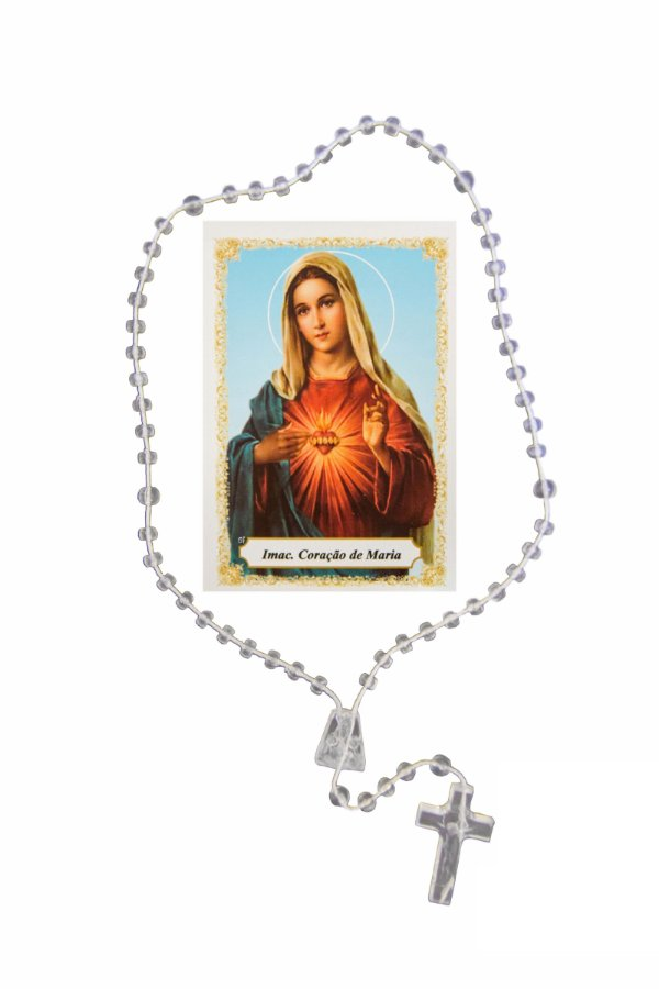 Terço com oração - Imaculado Coração de Maria