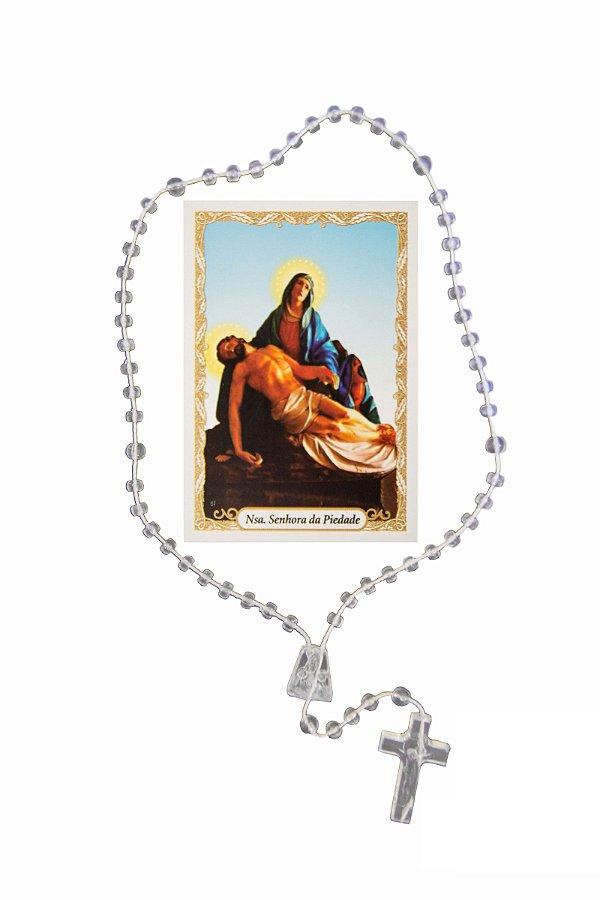 Terço com oração - Nossa Senhora da Piedade