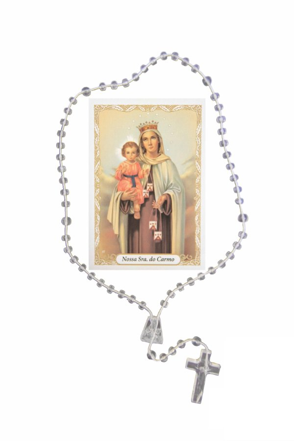 Terço com oração - Nossa Senhora do Carmo