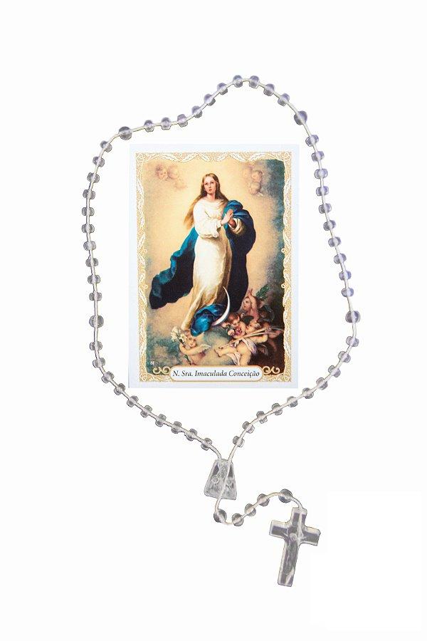 Terço com oração - Nossa Senhora Imaculada Conceição