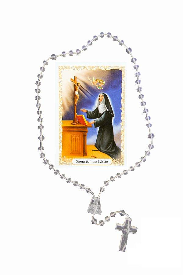Terço com oração - Santa Rita