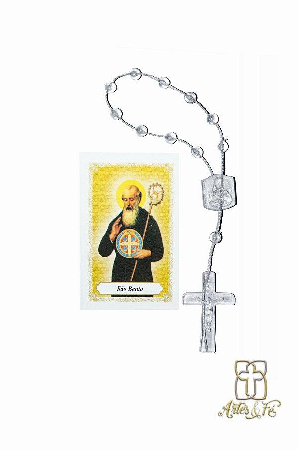 Dezena com oração mini -  São Bento