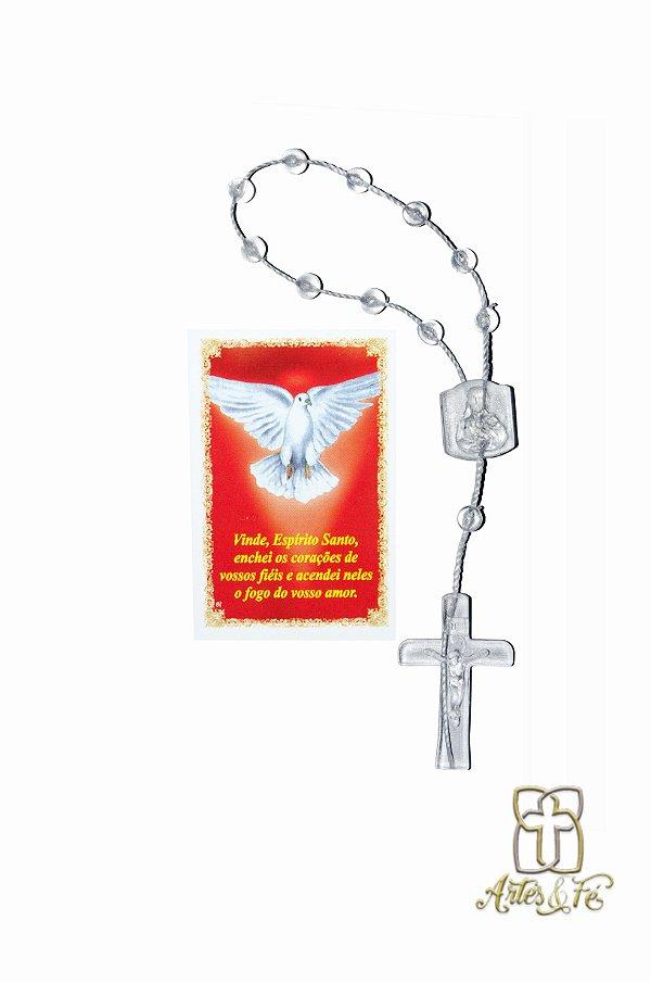 Dezena com oração mini -  Divino Espírito Santo