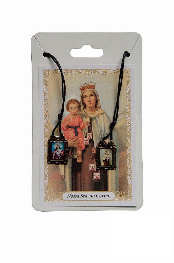 Escapulário S.C de Jesus e Nossa Senhora do Carmo