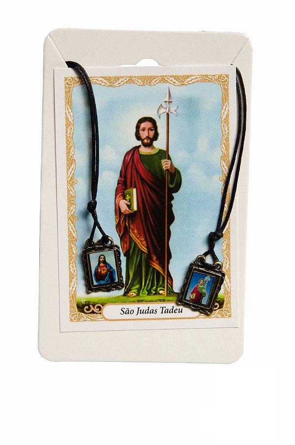 Escapulário Sagrado Coração de Jesus e São judas