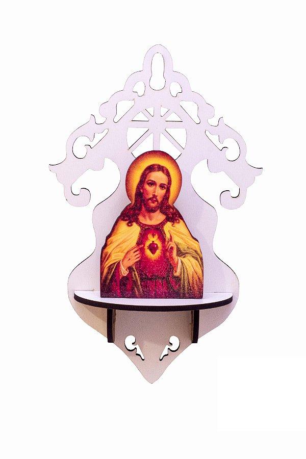 Imagem MDF Sagrado Coração de Jesus