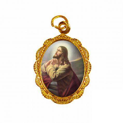 Medalha Jesus Orando