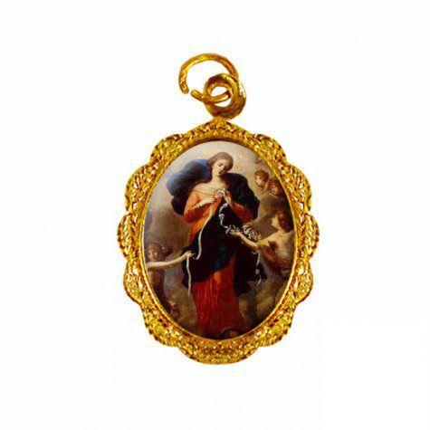 Medalha Nossa Senhora Desatadora de Nós