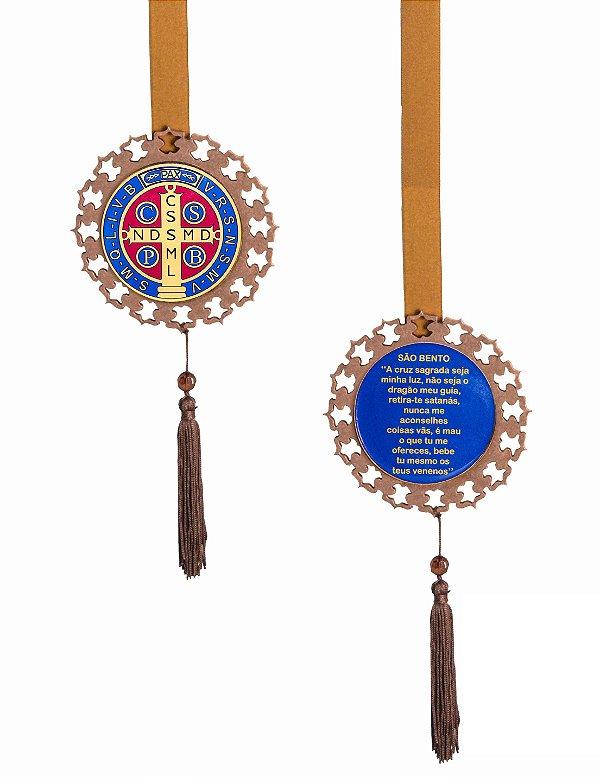 Escapulário de Porta Medalha São Bento