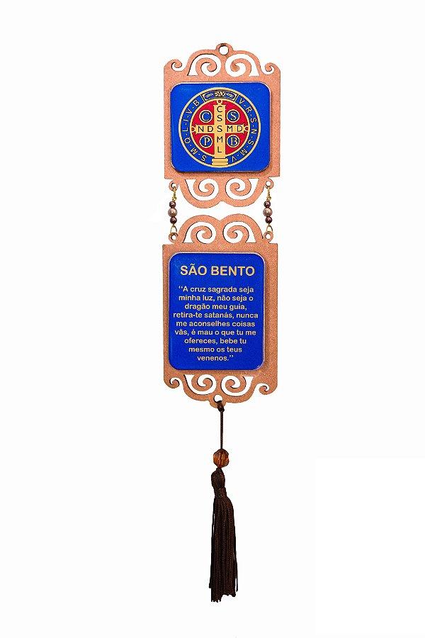 Adorno Medalha São Bento