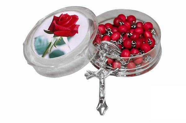 Terço Perfumado Rosas