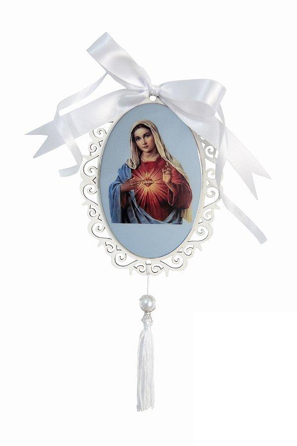 Adorno Sagrado Coração de Maria