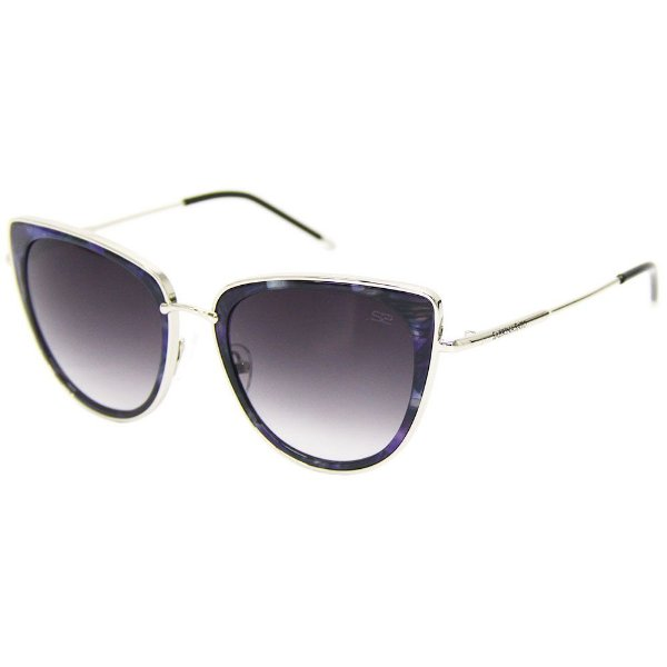 67041ad934153 Óculos de sol Sabrina Sato 7009 azul gatinho - Ótica Realce loja virtual