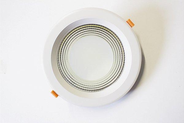 Spot DownLight LED 30W de Embutir Branco Frio