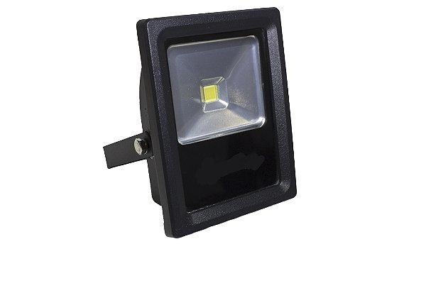Refletor de LED 10w Branco Quente