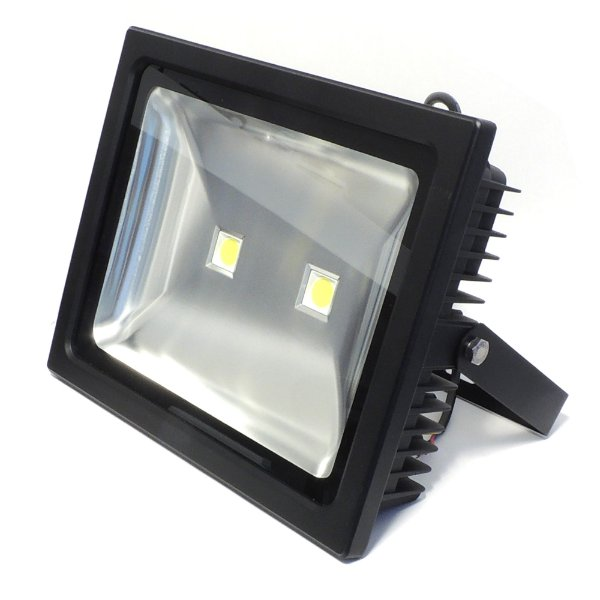 Refletor de LED 100w Branco Quente