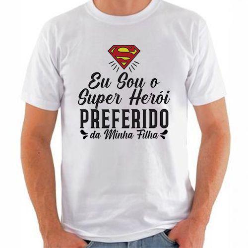 KIT 061 - PAI SUPER HEROI PREFERIDO FILHA