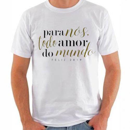 CAMISETA MASCULINA - PARA NÓS TODO AMOR DO MUNDO -  Sintonia T-shirts  e1031ffdd13ab