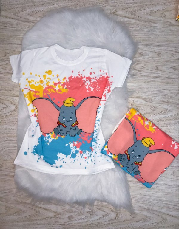 T-SHIRTS FEMININA OFF DUMBO