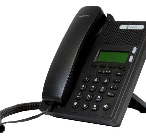 Telefone IP Khomp IPS102 (IPS102N)