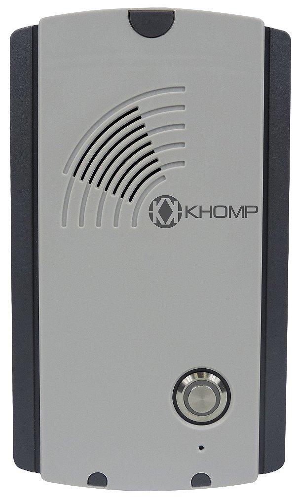 Porteiro GSM Khomp Mobile Intercom 101BC
