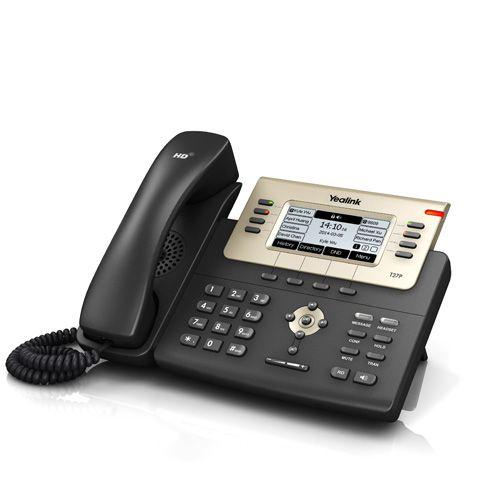 TELEFONE IP YEALINK SIP-T27G VOZ HD GIGA (T27G)
